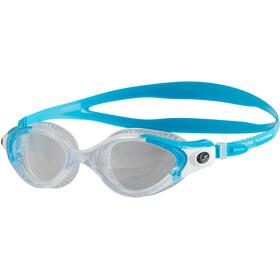 speedo Futura Biofuse Flexiseal duikbrillen Dames grijs/turquoise